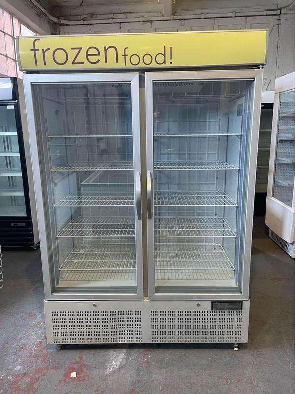 Capital Double Door Display Freezer