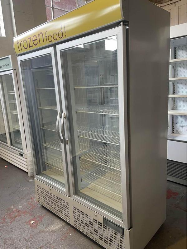 Capital Double Door Display Freezer for sale