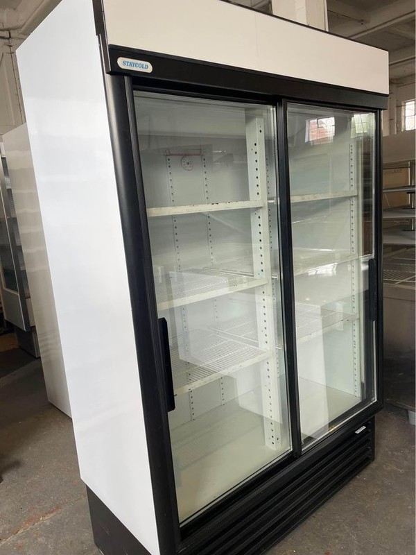Used Staycold 1.3M Sliding Door Display Chiller