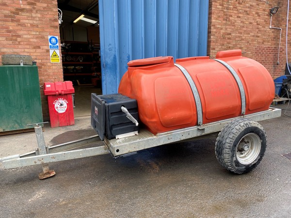 Western Global 2000 Litre Water Bowser
