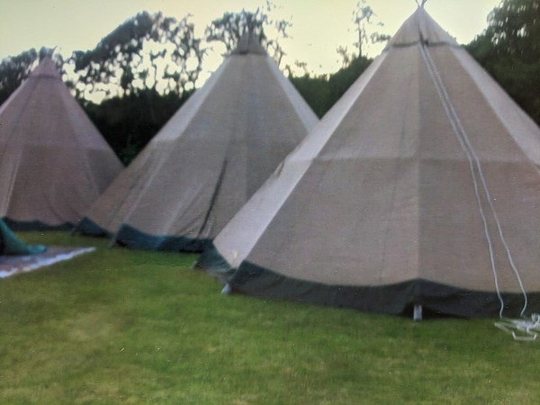 Tipi hire business for sale