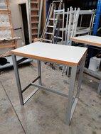 Poseur height bar table
