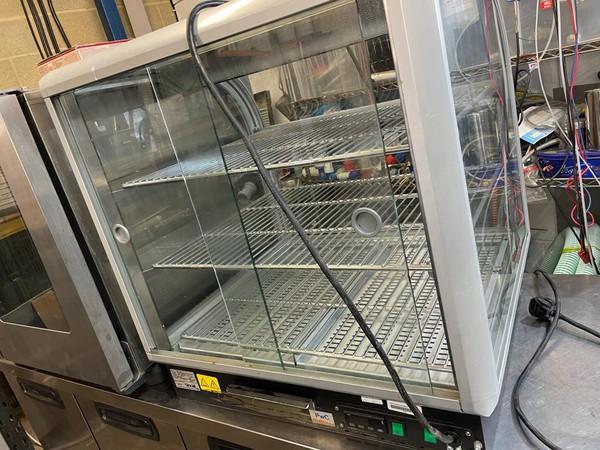 Counter top Pie warmer / Hot food display