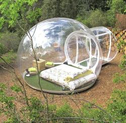 transparent igloo dome