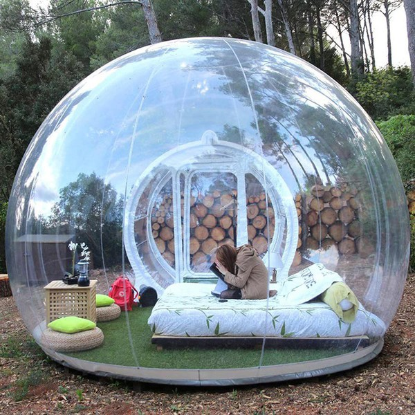 See through Inflatable dome for sale
