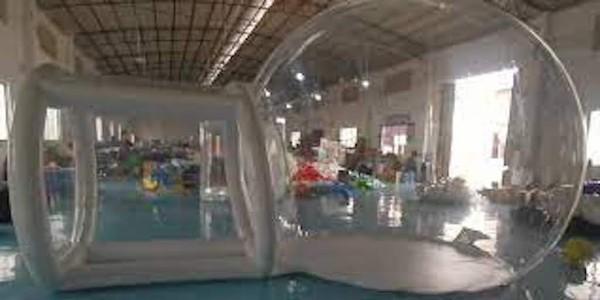 transparent igloo domes