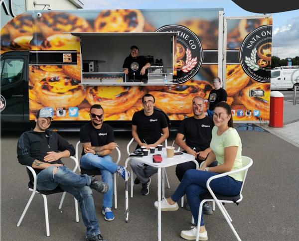 Espresso and nata catering truck