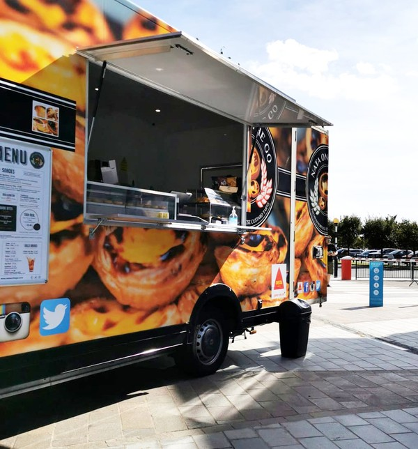 Renault Master mobile catering