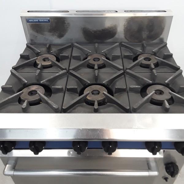 Blue Seal G506DF 6 Burner Range Cooker  for sale