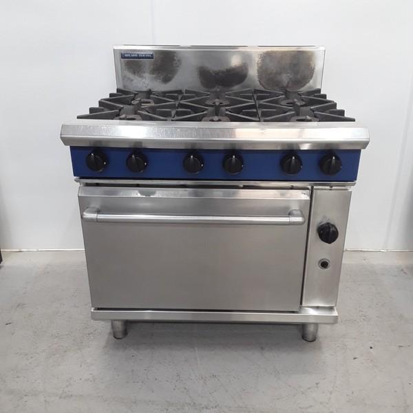 Used Blue Seal G506DF 6 Burner Range Cooker (14928)