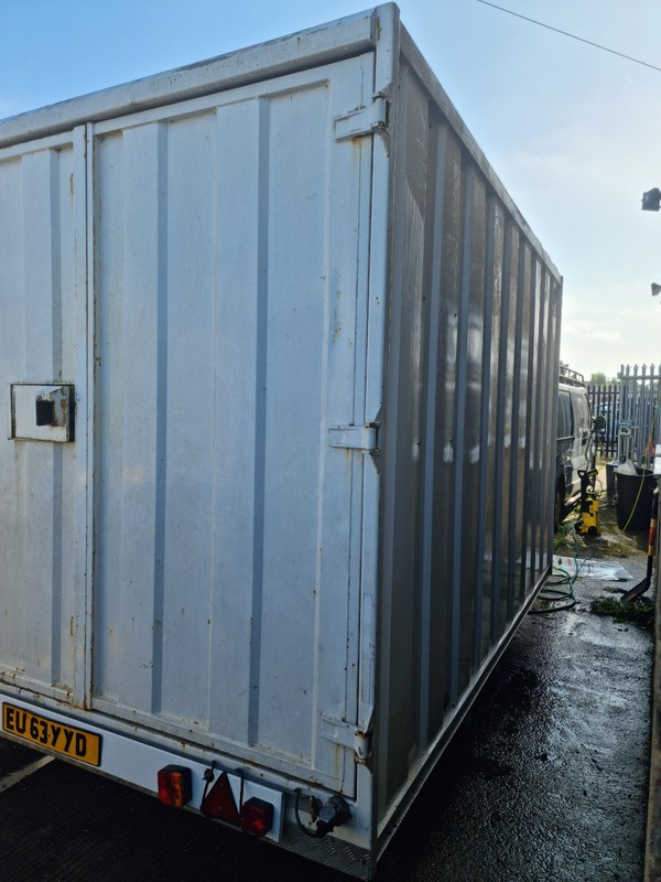 12ft Groundhog Twin Axle Braked Box Trailer for sale