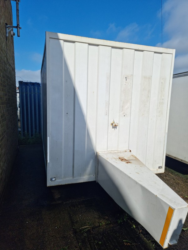 Second Hand Groundhog Twin Axle Braked Box Trailer