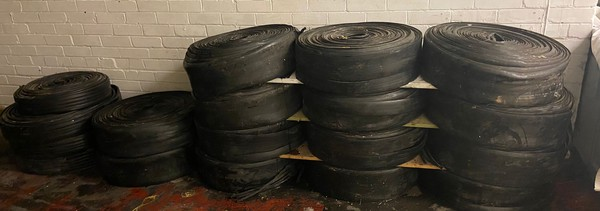 Rolls Pipework, Approximately 32m x 20cm each