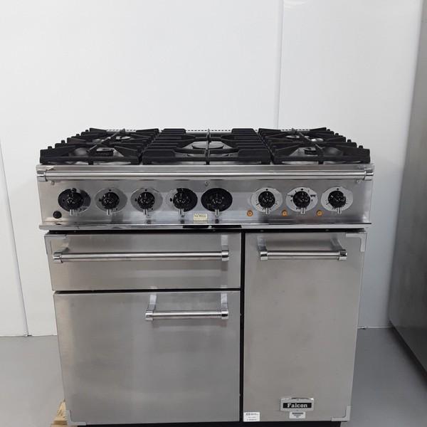 5 Burner range cooker (With wok burner)