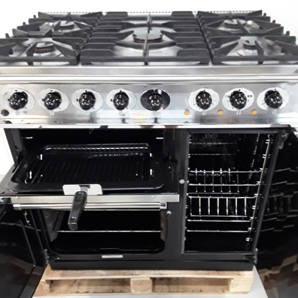 Heavy-duty roll-out grill
