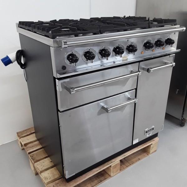 Used Falcon 900 5 Burner Range Cooker