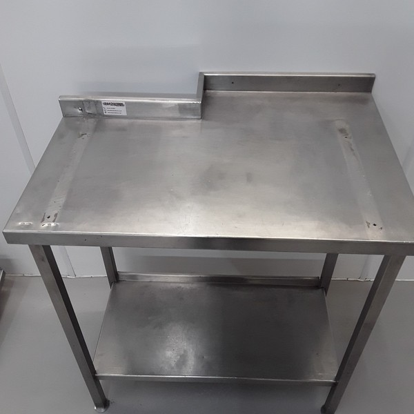 Stainless steel table 840mm x 590mm
