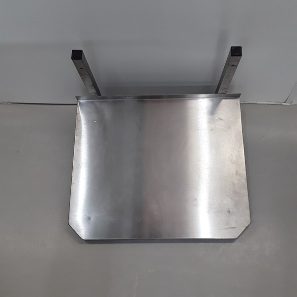 Commercial microwave shelf