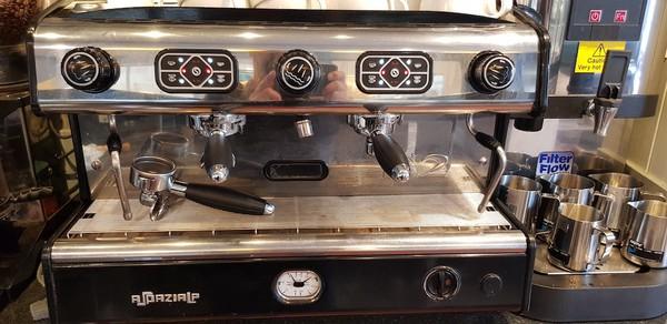 Serviced La Spazielle 2 Group Espresso Machine