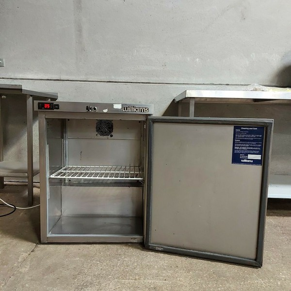 Used Williams HP5SC SS Stainless Steel Commercial Under counter Single Door Fridge
