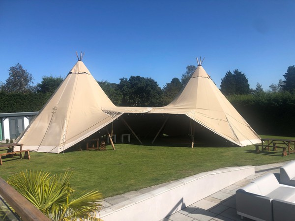 2x Giant Hat Tipis for sale