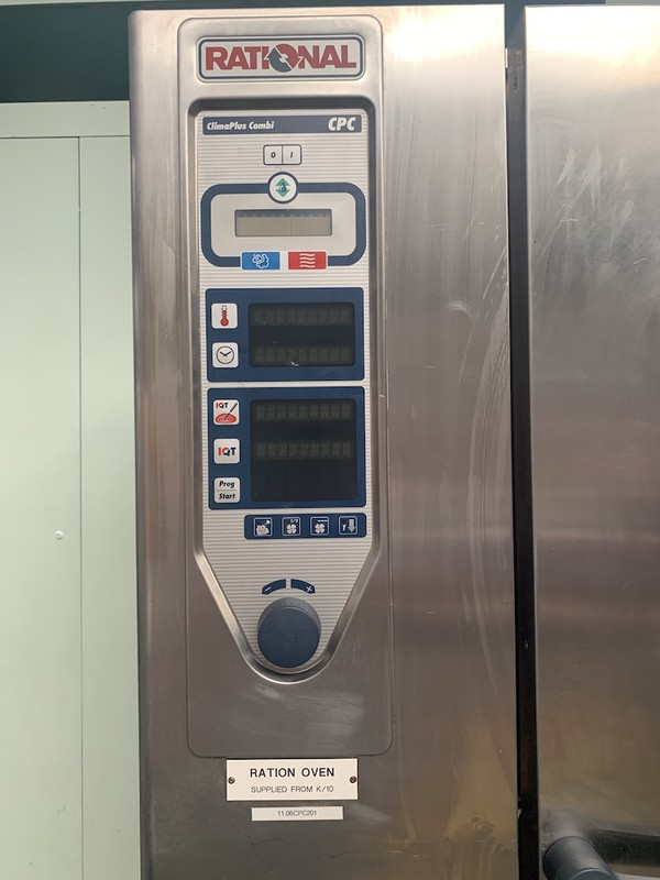 Rational CPC 20 Grid Electric Combi Oven for sale