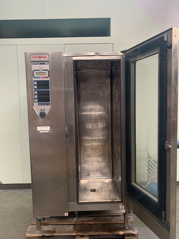 Used Rational CPC 20 Grid Electric Combi Oven