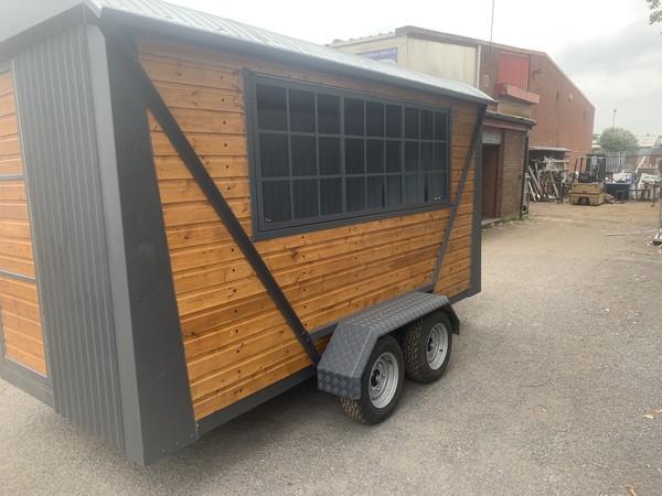 New shepherds hut coffee trailer