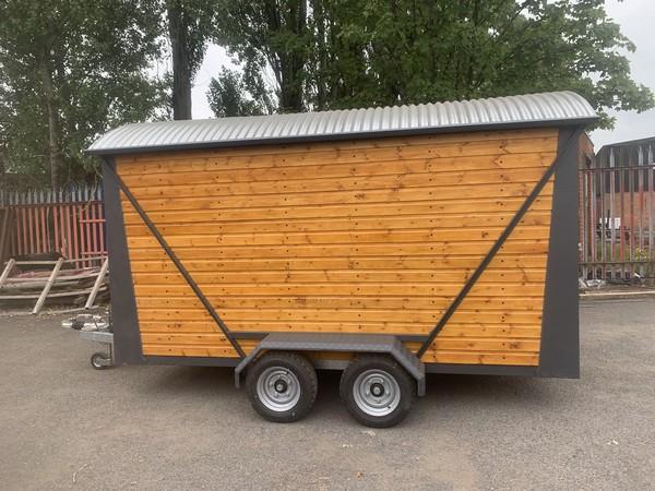 Shepherds hut food trailer