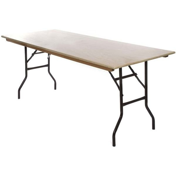 Wooden Trestle Table 1200mm x 750mm