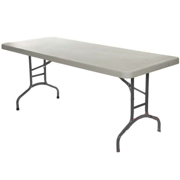 Blow Moulded Trestle Table special offer