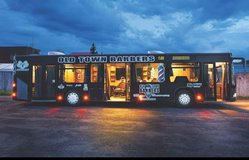 Barber shop in a bus - for sale