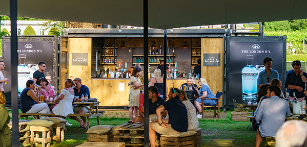 20ft Fully Equipped Shipping Container Portable Bar