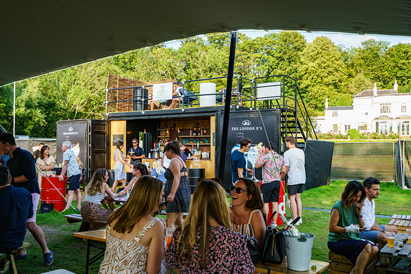 20ft Fully Equipped Shipping Container Events Bar