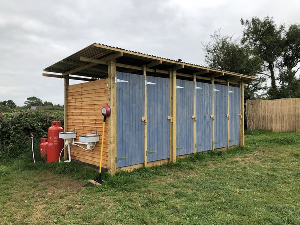 Glamping shower block for sale