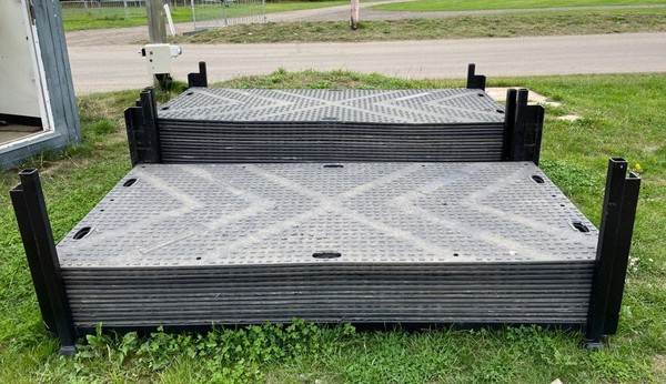 Ground protection mats / Road or Trackway