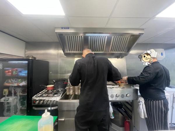 Portable catering kitchen Van