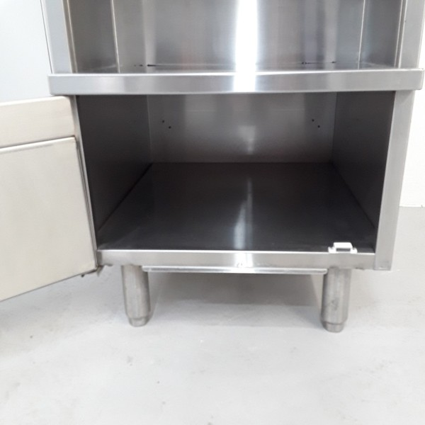 Stainless steel stand 0.55m x 0.76m  by 0.84m