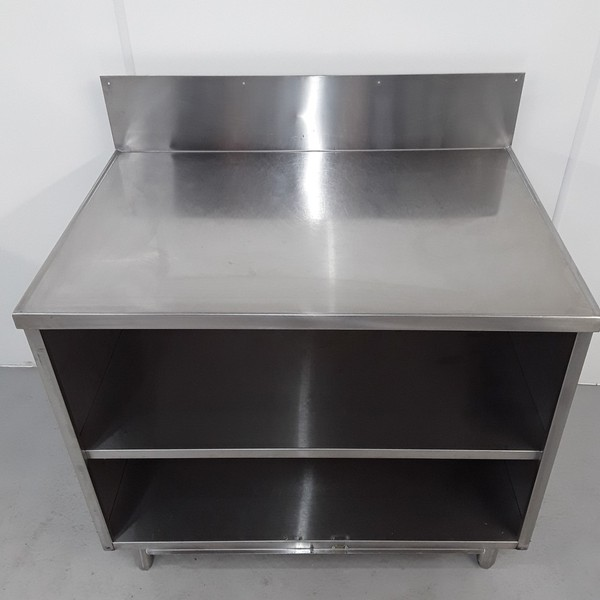 Prep table cabinet