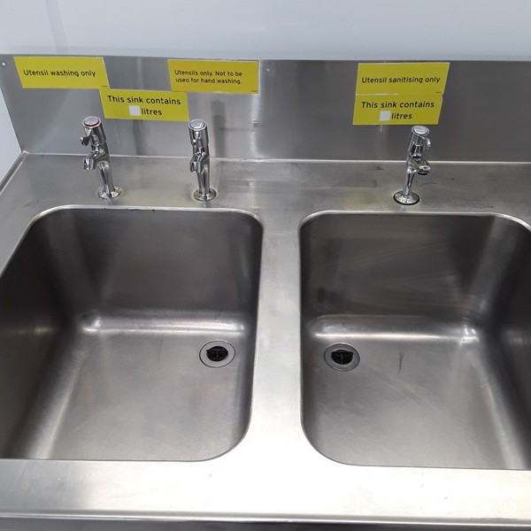 Deep double sinks