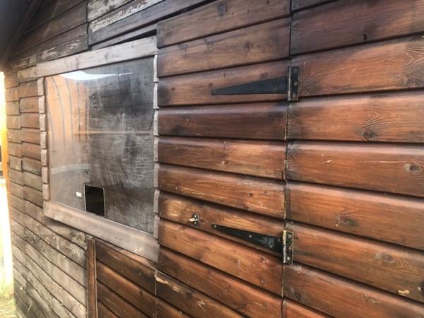 Folding Wooden Christmas huts