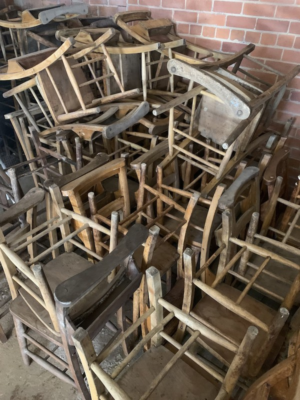 Buy  Vintage Church Chairs