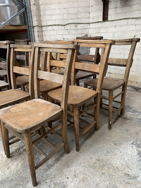 Vintage Church Chairs or sale