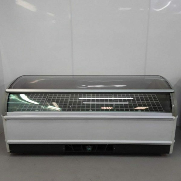 Buy Used Novum Curved Top Display Chest Freezer