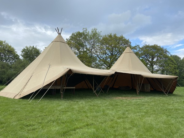 Giant hat teepees for sale