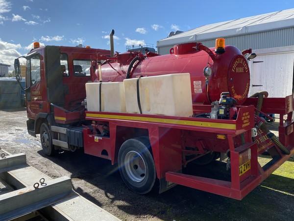 used vacuum tanker