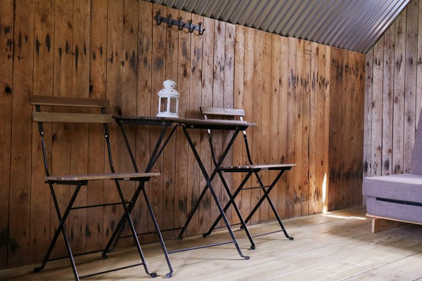 Fully furnished glamping