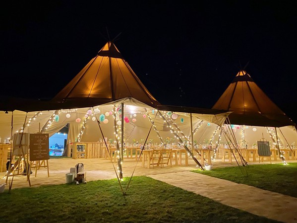 Used giant tipis for sale