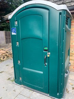 Disabled single toilet