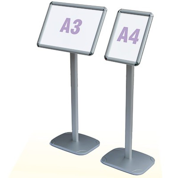 A3 signage stands